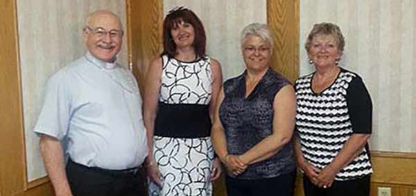 Bishop Recognises Catholic Family Services Staff at Luncheon